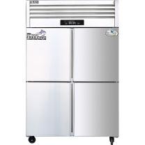 圣托 Shentop 不锈钢立式冷柜 STLN-GS24  四门冰柜双温商用