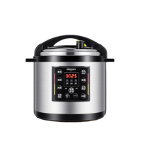 德玛仕 DEMASHI 商用电压力锅 YBD40-350  煲汤煮饭锅 大容量电高压锅 40L/升多功能45-55人适用