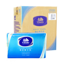 维达 vinda 商用擦手纸单层三折 VS2060  200抽/包 20包/箱