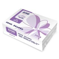 五月花 may flower 擦手纸双层三折 A182200  200抽/包 20包/箱