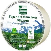 洁云 Hygienix 自由森林大卷纸 116906 双层 300m (自然本色) 12卷/箱