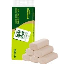 康倍宝 原色经典 压扁卫生纸 SY4080G12 960G