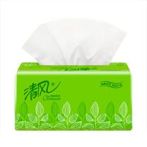 清风 Breeze 软包抽取式面巾纸 BR38AE/BR38AE1 双层  200抽/包 3包/提 16提/箱