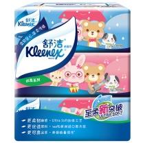 金佰利 Kimberly-Clark 舒洁丝柔系列迪斯尼袋装面纸 2107 双层 200抽/包  3包/提 20提/箱