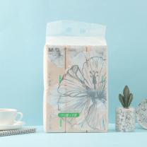 晨光 M&G 软包抽取式面巾纸 三层 AR65CGW2/ARC925E1  130抽/包 6包/提 8提/箱