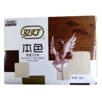 双灯 本色优质卫生纸 358g/包 20包/捆 358g
