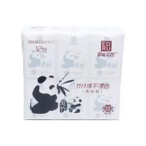 韶能本色 爱竹系列竹浆本色手帕纸巾 3层*8张*48包