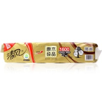 清风 Breeze 卫生卷纸 B20A6JN 138*108mm,4层  160g/卷*10卷/提*6提/箱