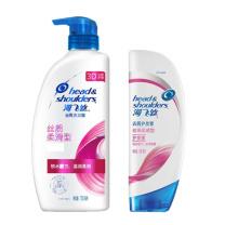 海飞丝 head&shoulders 洗发护发套装 护发素400ml*1瓶、洗发水700ml*1瓶