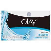 玉兰油 OLAY 沐浴香皂 (美白清爽) 125g/块  72块/箱