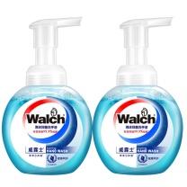 威露士 Walch 泡沫抑菌洗手液 健康呵护两支装 225ml/瓶 2瓶/组  12组/箱
