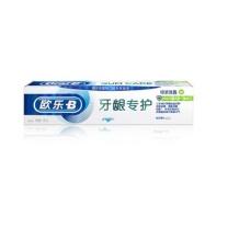 欧乐B Oralb 牙龈专护牙膏 绿茶 持久清新修护 90g  24支/箱 (新老包装随机发货)