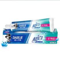 黑人 DARLIE 牙膏 (超白矿物盐) 140g/支  72支/箱