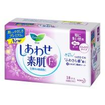 花王 乐而雅F系列 日用卫生巾 25cm 18片  24包/箱 (新包装17片,新老包装随机发货)