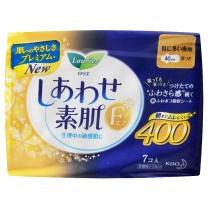 花王 乐而雅F系列 夜用卫生巾 7片 40cm  24包/箱