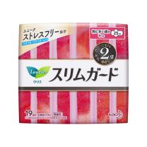 花王 乐而雅 进口S零触感超丝薄特长卫生巾 日用 25cm*19片/包
