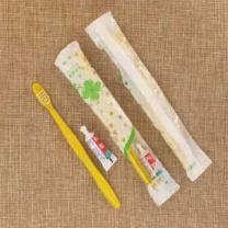 亦可亦乐 定制一次性牙刷牙膏套装 20414584158 (透明) 牙膏+牙刷
