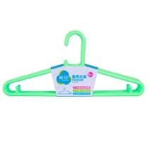 茶花 CHAHUA 塑料晾衣架 07081T (随机颜色) 5只/组