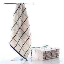 金号 KINGSHORE 纯棉吸水柔软方格方巾 2616 34*33cm 38g 单条装  320袋/箱 袋装 颜色随机