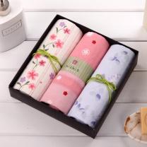 内野 UCHINO 和风系列面巾3条装礼盒 Y15321/5 83*34cm 70g  3条装 (或Y15339等)