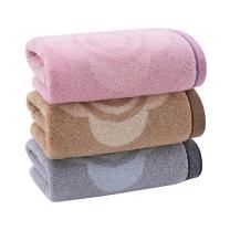 洁丽雅 grace 提花纯棉毛巾 8045 76*34cm 110g 单条装  120条/箱 袋装 颜色随机