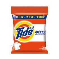 汰渍 Tide 净白去渍洗衣粉 260g/袋  20袋/件