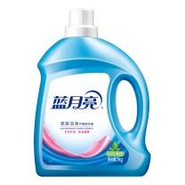 蓝月亮 bluemoon 深层洁净护理洗衣液 3kg/瓶  4瓶/箱 (自然清香)