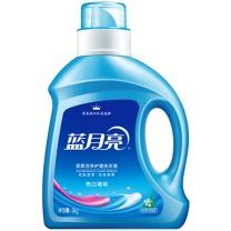 蓝月亮 bluemoon 亮白增艳洗衣液 3kg/瓶  4瓶/箱 (自然清香)