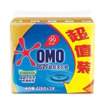 奥妙 OMO 99超效洗衣皂 226g/块  3块/组 20组/箱
