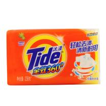 汰渍 Tide 全效360度三重功效洗衣皂 238g/块  36块/箱
