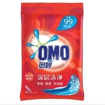 奥妙 OMO 深层洁净洗衣粉 2kg/包  6包/箱