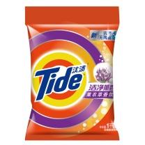 汰渍 Tide 洁净薰香洗衣粉 (薰衣草香氛) 1kg/包  8包/件