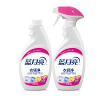蓝月亮 喷雾头衣领净 衣领助洗剂 衣领清洁剂优惠套装(500g瓶+500g瓶装补充液)