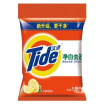 汰渍 Tide 净白去渍洗衣粉 1.55kg/袋  6袋/件