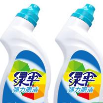 绿伞 EverGreen 强力厕洁 洁厕剂组合装 500g/瓶 2瓶/套  12套/箱 (新老包装交替发货)