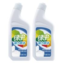 绿伞 EverGreen 强力厕洁 洁厕剂组合装 500g/瓶 2瓶/套  12套/箱