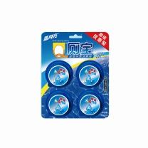 蓝月亮 bluemoon Q厕宝 洁厕块 50g/块  4块/卡 12卡/箱