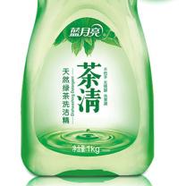 蓝月亮 bluemoon 茶清洗洁精 1kg/瓶  12瓶/箱 (天然绿茶)