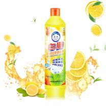白猫 WhiteCat 洗洁精 500g/瓶  30瓶/箱 (柠檬红茶)