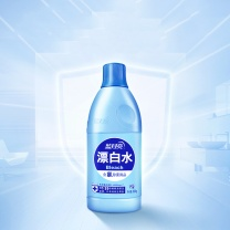 蓝月亮 bluemoon 漂白水 600g/瓶  12瓶/箱