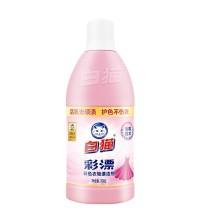 白猫 WhiteCat 彩色衣物彩漂剂 700g/瓶 12瓶/箱