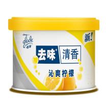 佳丽 Glade 固体清香胶 空气清新剂 沁爽柠檬 70g  (车载香水)