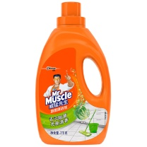 威猛先生 Mr Muscle 地面清洁剂 2kg/瓶  6瓶/箱