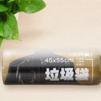 科力普 COLIPU 特惠型垃圾袋 断点式 45cm*55cm 0.8s (黑色) 30只/卷 100卷/箱