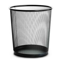 得力 deli 金属网状纸篓 9190 中号 13L  36个/箱 12个/箱