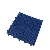 爱柯部落 拼装疏水防滑垫 0.3m*0.3m 12mm (深蓝色) 材质:软性PVC