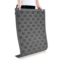 爱柯部落 除尘刮沙吸水垫A款 60cm*90cm (深灰色) 材质:涤纶+橡胶