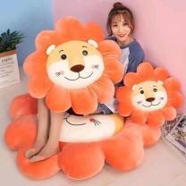 国产太阳花狮子坐垫靠垫 玩偶 45CM