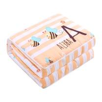 北极绒 小蜜蜂-功能抱枕被 BJR-BZ001