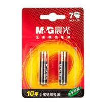 晨光 M&G 碱性电池 ARC92555 7号  2节/卡 30卡/箱 吸卡